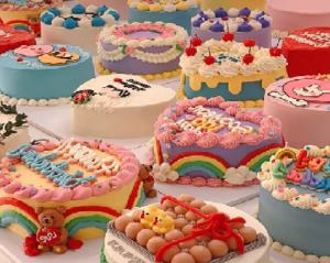 Birbirinden Güzel Rengarenk Pastalar Yapmak